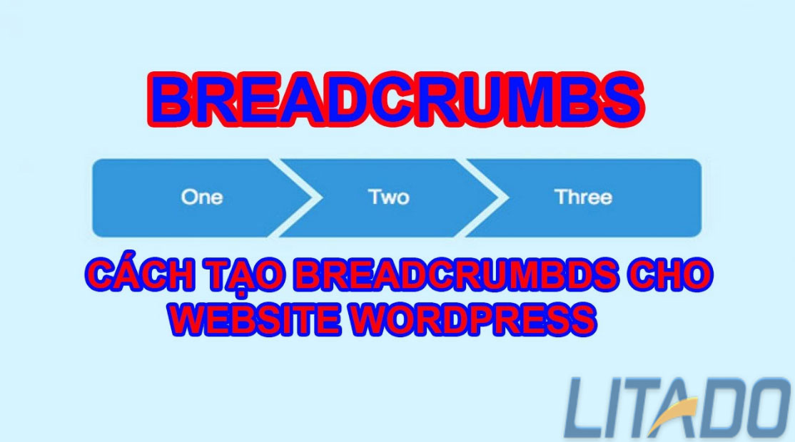 breadcrumb hỗ trợ SEO web WordPress