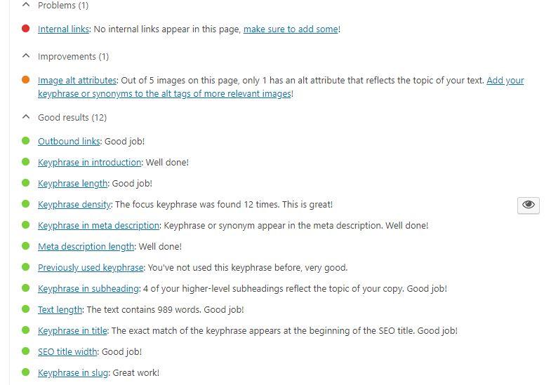 Cách viết bài chuẩn Seo - plugin Yoast