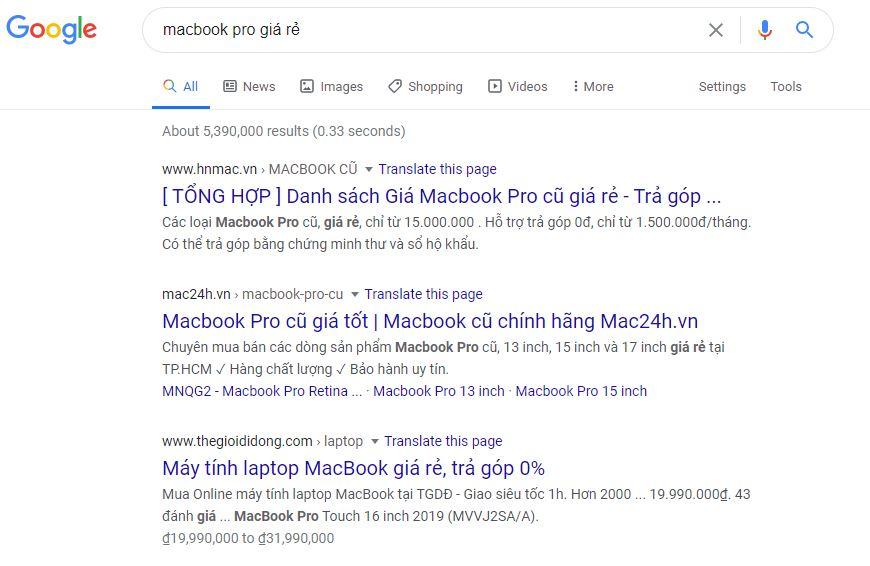 Macbook pro giá rẻ